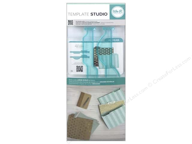 We R Memory Keepers Template Studio Guide Template - File Folder