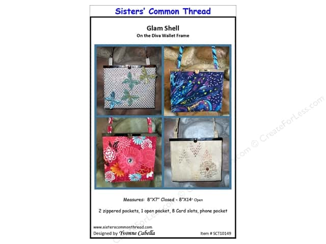 Sisters' Common Thread Glam Shell Pattern