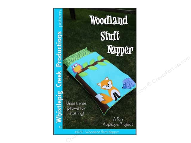 Whistlepig Creek Woodland Stuff Napper Pattern