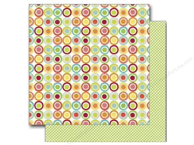 Echo Park 12 x 12 in. Paper Sweet Summertime Collection Citrus Circle (25 sheets)