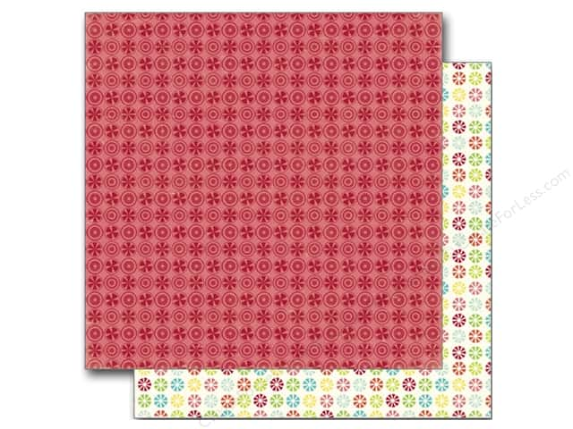 Echo Park 12 x 12 in. Paper Sweet Summertime Collection Raspberry Delight (25 sheets)