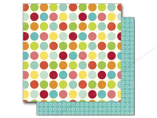 Echo Park 12 x 12 in. Paper Sweet Summertime Collection Happy Spots (25 sheets)