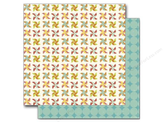Echo Park 12 x 12 in. Paper Sweet Summertime Collection Pinwheels (25 sheets)