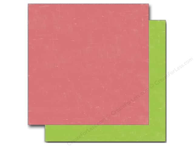 Echo Park 12 x 12 in. Paper Sweet Summertime Collection Pink/Green (25 sheets)