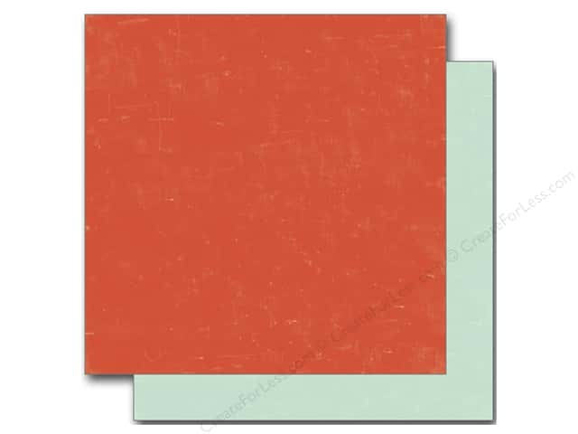 Echo Park 12 x 12 in. Paper Sweet Summertime Collection Red/Lt Blue (25 sheets)