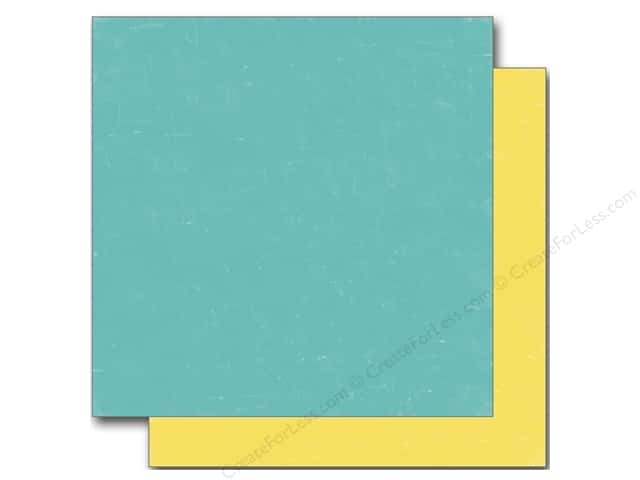 Echo Park 12 x 12 in. Paper Sweet Summertime Collection Blue/Yellow (25 sheets)