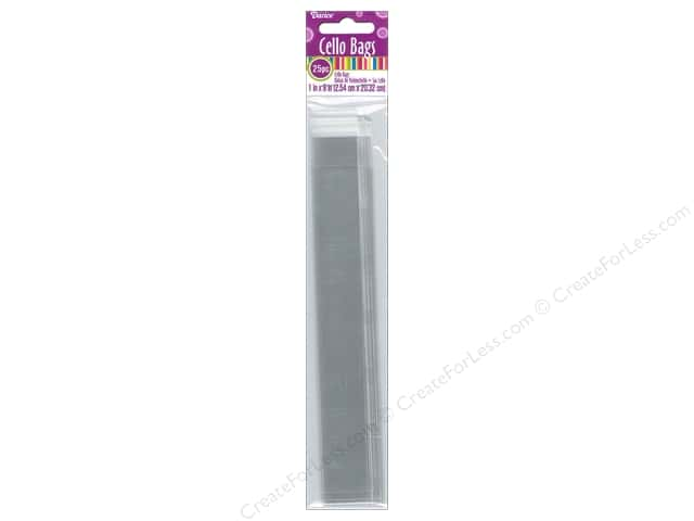Darice Bag Treat 1 x 8 in. Self Seal Clear 25 pc.