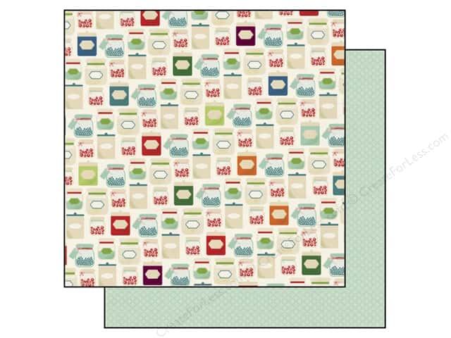 Echo Park 12 x 12 in. Paper Homegrown Collection Mason Jars (25 sheets)