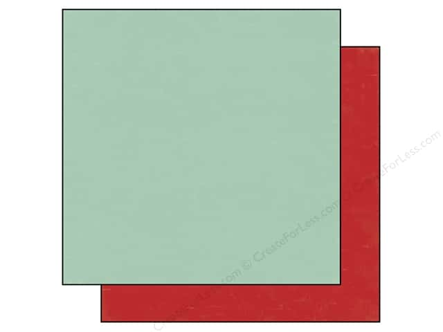 Echo Park 12 x 12 in. Paper Homegrown Collection Teal/Red (25 sheets)