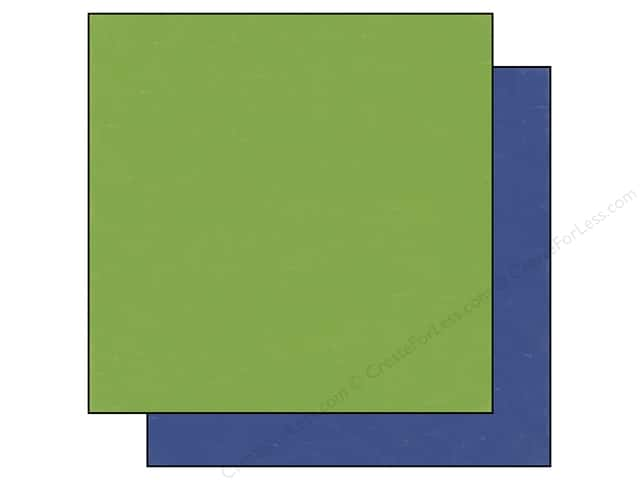 Echo Park 12 x 12 in. Paper Homegrown Collection Green/Dark Blue (25 sheets)