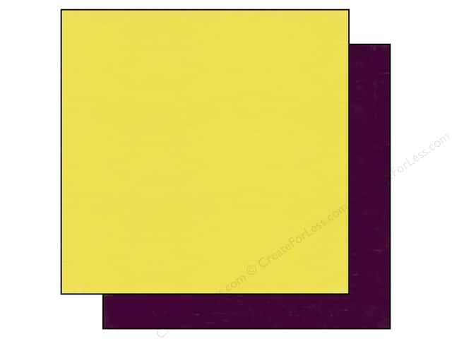 Echo Park 12 x 12 in. Paper Homegrown Collection Yellow/Purple (25 sheets)