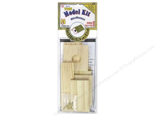 Darice Wood Model Kit Birdhouse 6 x 3 1/4 in.