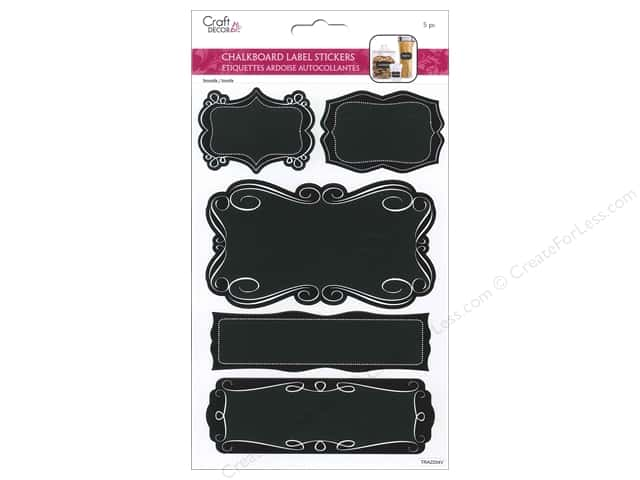 Multicraft Sticker Label Chalkboard Fancy Borders