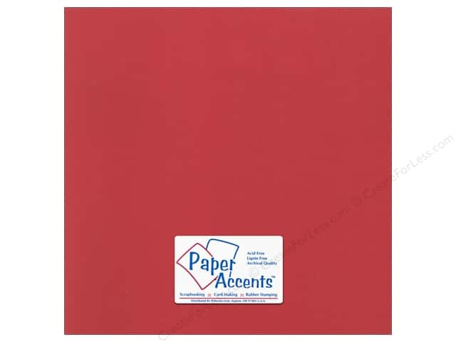 Cardstock 12 x 12 in. Canvas Dare Devil by Paper Accents (25 sheets)