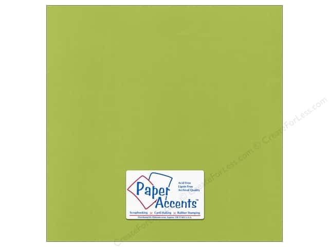 Paper Accents Cardstock 12 x 12 in. Canvas Mint Julep (25 sheets)