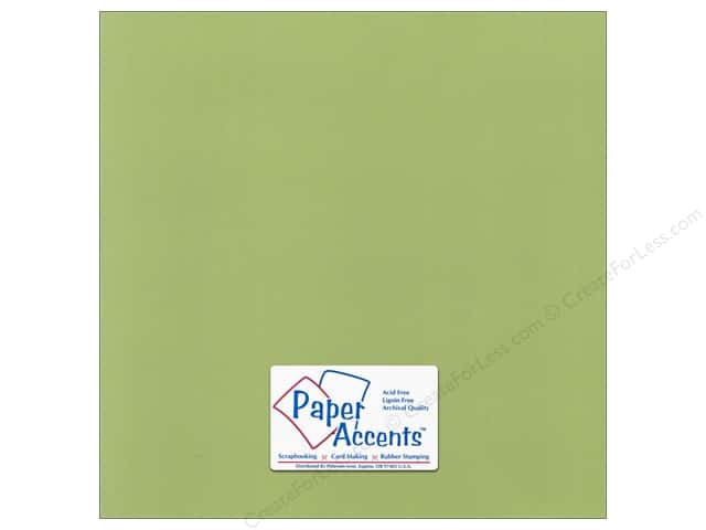 Paper Accents Cardstock 12 x 12 in. Canvas Grasshopper (25 sheets)