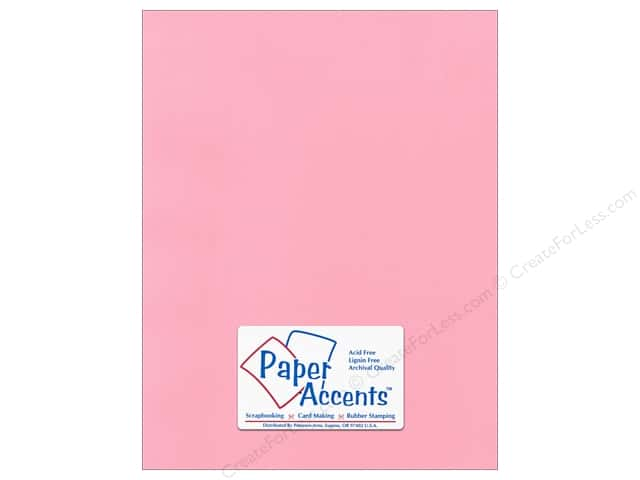 Paper Accents Cardstock 8 1/2 x 11 in. #51112 Canvas Coral Rose (25 sheets)