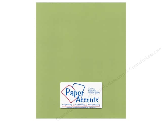 Paper Accents Cardstock 8 1/2 x 11 in. #55518 Canvas Grasshopper (25 sheets)