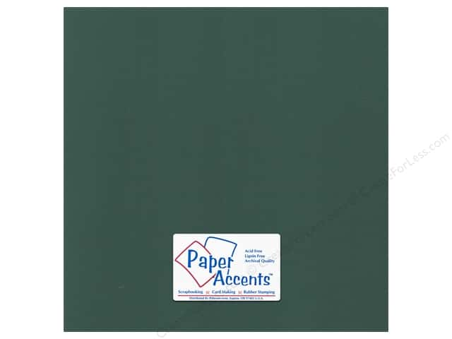 Paper Accents Cardstock 12 x 12 in. Canvas Pine Forest (25 sheets)