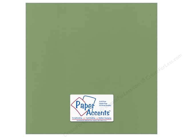 Cardstock 12 x 12 in. Canvas Desert Cactus by Paper Accents (25 sheets)