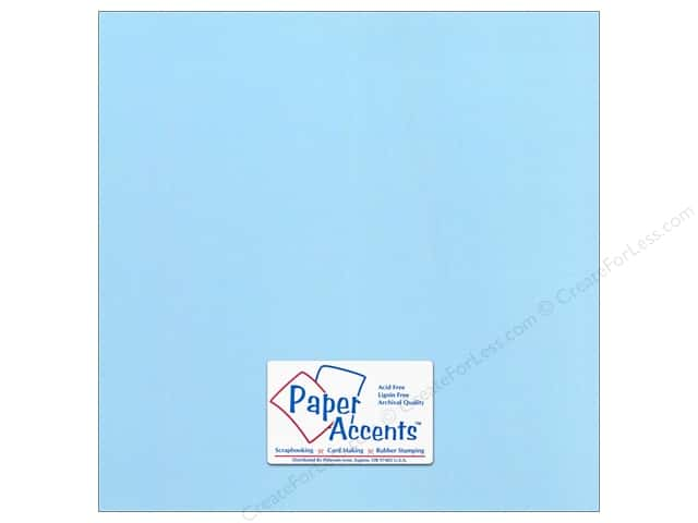 Paper Accents Cardstock 12 x 12 in. Canvas Sky (25 sheets)