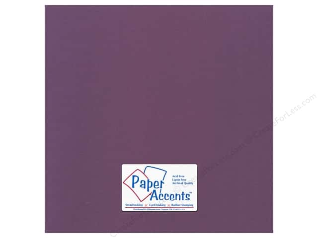 Paper Accents Cardstock 12 x 12 in. Canvas Concord Jam (25 sheets)