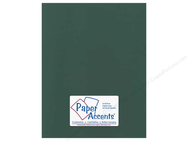 Cardstock 8 1/2 x 11 in. Canvas Pine Forest by Paper Accents (25 sheets)