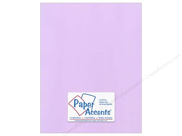 Paper Accents Cardstock 8 1/2 x 11 in. #56608 Canvas Lilac Mist (25 sheets)