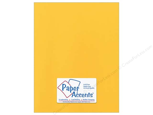 Cardstock 8 1/2 x 11 in. Canvas Banana Pepper by Paper Accents (25 sheets)