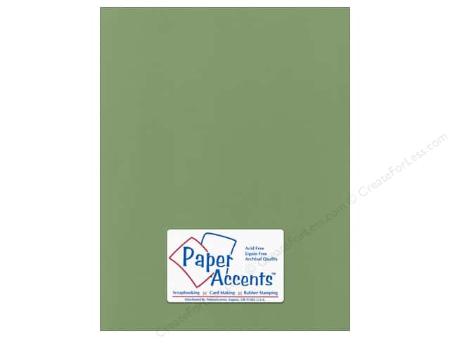 Cardstock 8 1/2 x 11 in. Canvas Desert Cactus by Paper Accents (25 sheets)