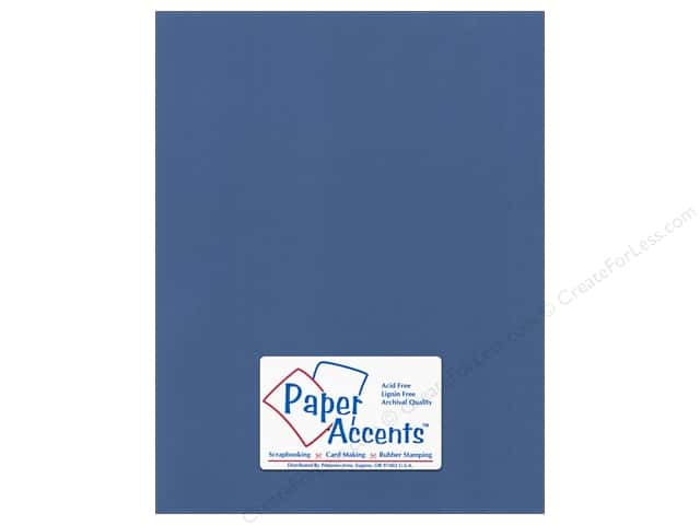 Paper Accents Cardstock 8 1/2 x 11 in. #57732 Canvas Ocean Side (25 sheets)