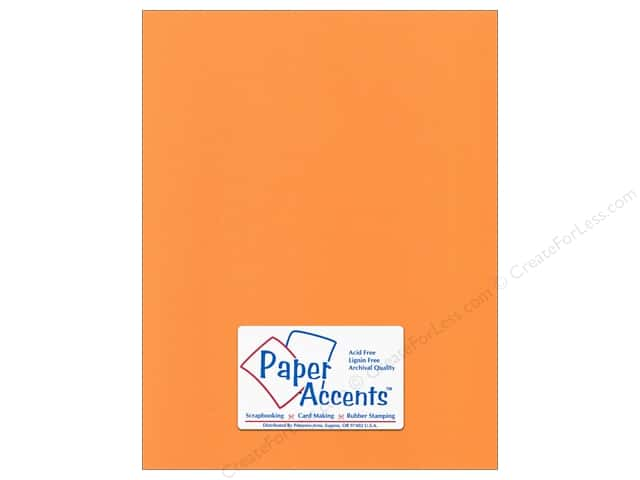 Cardstock 8 1/2 x 11 in. Canvas Sweet Potato by Paper Accents (25 sheets)