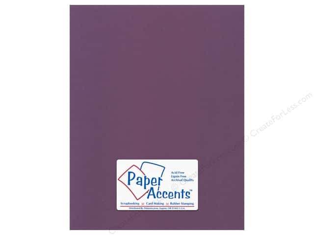 Cardstock 8 1/2 x 11 in. Canvas Concord Jam by Paper Accents (25 sheets)