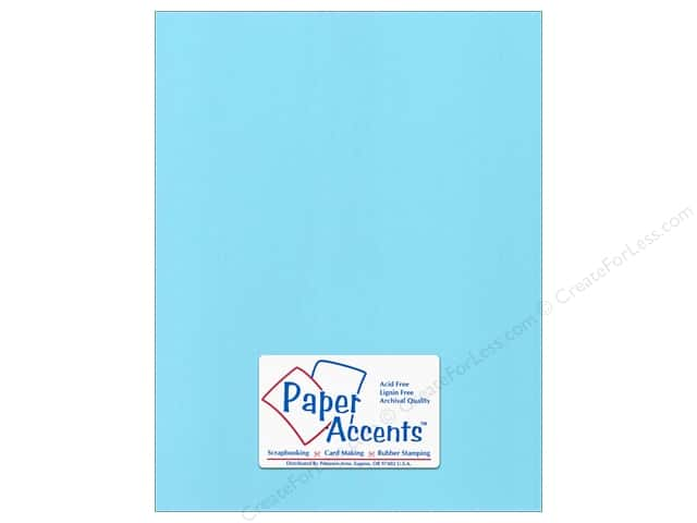 Cardstock 8 1/2 x 11 in. Canvas Atlantic Shore by Paper Accents (25 sheets)