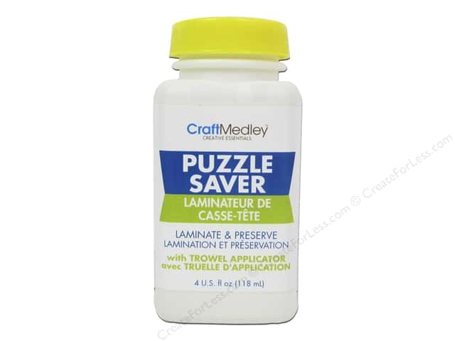 Multicraft Adhesive Puzzle Saver With Trowel Applicator 4oz