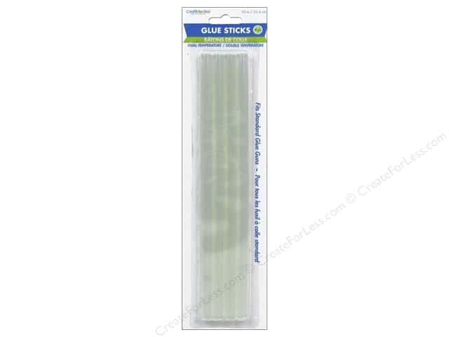 "Multicraft Adhesive Glue Sticks Dual 10"" Standard 4pc"