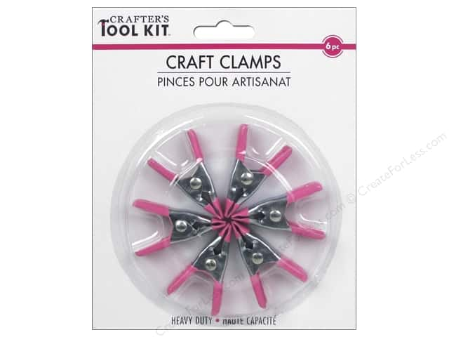 Multicraft Tools Craft Clamps Heavy Duty 6pc