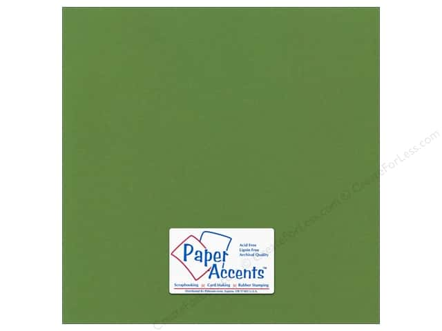 Paper Accents Cardstock 12 x 12 in. Canvas Parrot (25 sheets)