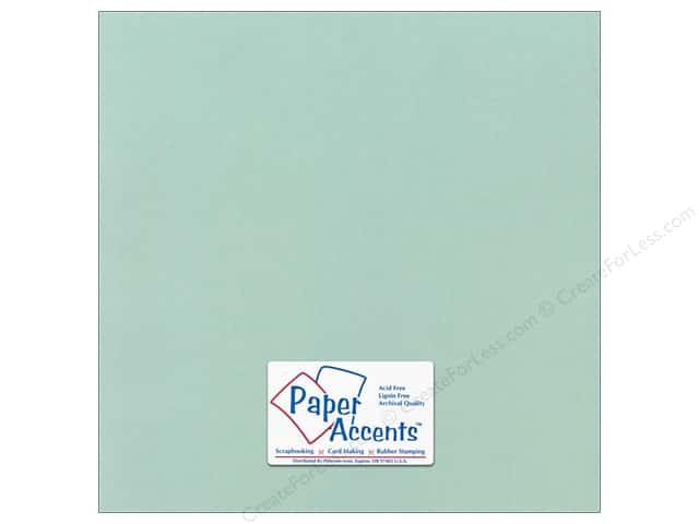 Paper Accents Cardstock 12 x 12 in. Canvas Aquatint (25 sheets)