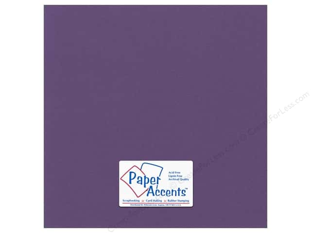 Cardstock 12 x 12 in. Canvas Grape Vine by Paper Accents (25 sheets)