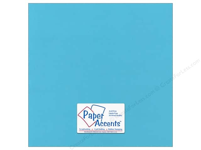 Cardstock 12 x 12 in. Canvas Poolside by Paper Accents (25 sheets)