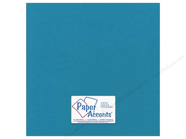 Paper Accents Cardstock 12 x 12 in. Canvas Tropical Splash (25 sheets)