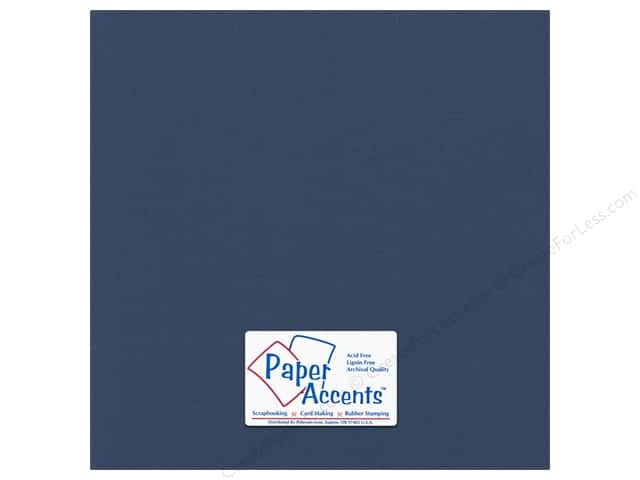 Paper Accents Cardstock 12 x 12 in. Canvas Velvet Night (25 sheets)