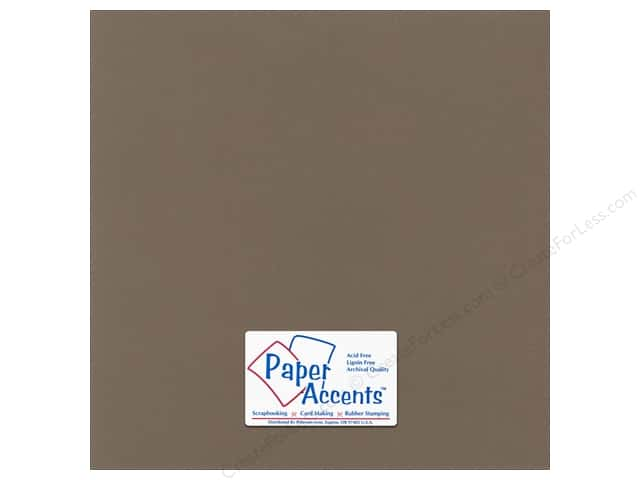 Paper Accents Cardstock 12 x 12 in. Canvas Cafe Ole (25 sheets)