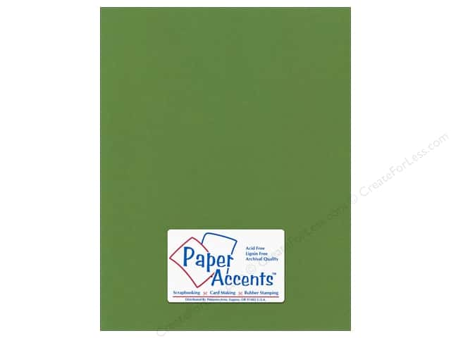 Paper Accents Cardstock 8 1/2 x 11 in. #55521 Canvas Parrot (25 sheets)