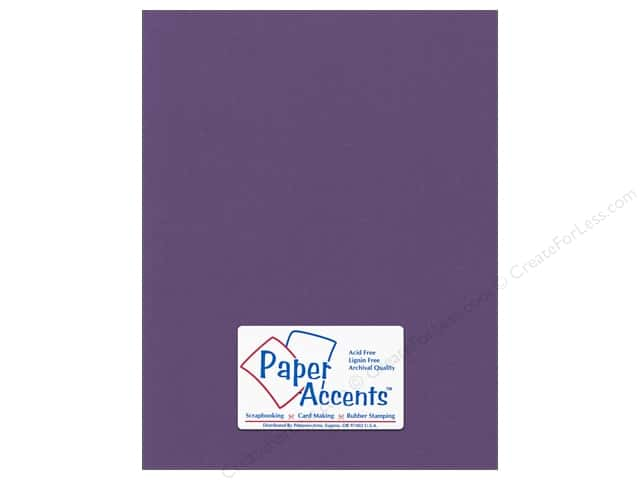Paper Accents Cardstock 8 1/2 x 11 in. #56611 Canvas Grape Vine (25 sheets)