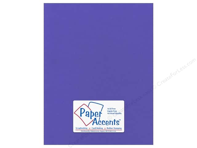 Paper Accents Cardstock 8 1/2 x 11 in. #57731 Canvas Comodore Blue (25 sheets)