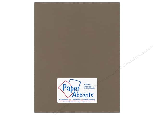 Cardstock 8 1/2 x 11 in. Canvas Cafe Ole by Paper Accents (25 sheets)