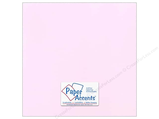 Paper Accents Cardstock 12 x 12 in. #51109 Canvas Pale Blossom (25 sheets)
