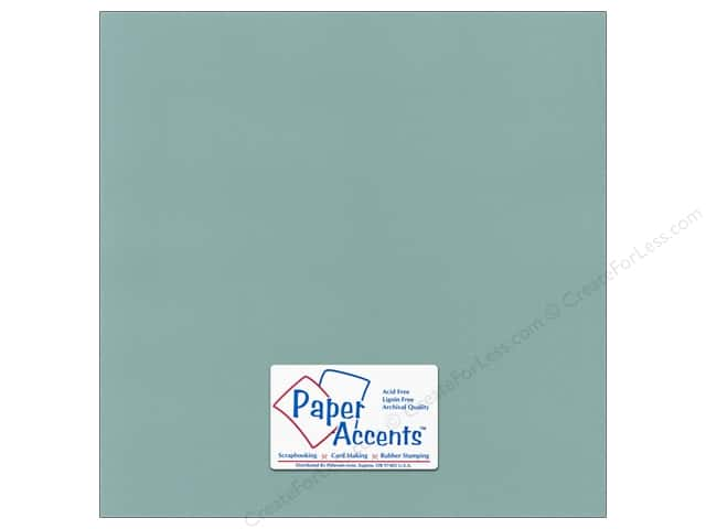 Paper Accents Cardstock 12 x 12 in. #55528 Canvas Aquamarine (25 sheets)